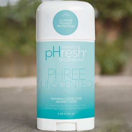 Honestly pHresh Natural Deodorant Stick - Phree Unscented