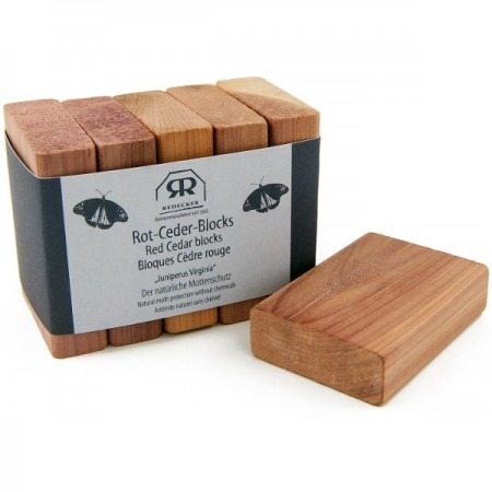 Redecker red cedar block moth repellant 5 pack