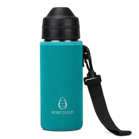 Ecococoon Medium Water Bottle Cuddler - sea foam