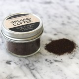 Organic Ground Coffee in Glass Jar 35g
