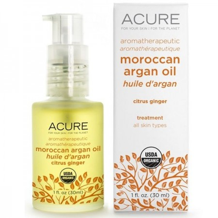 ACURE Moroccan Argan Oil 30ml - Citrus Ginger