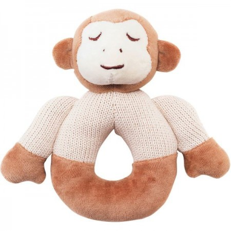 My Nature Knitted Teether -  Monkey