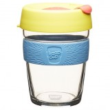 KeepCup Medium Glass Cup 12oz (340ml) - Pineapple