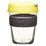 KeepCup Medium Glass Cup 12oz (340ml) - Honey