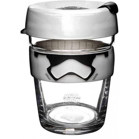 KeepCup Medium Glass Cup 12oz (340ml) - Stormtrooper