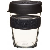 KeepCup Medium Glass Cup 12oz (340ml) - Black