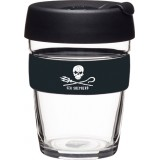 KeepCup Medium Glass Cup 12oz (340ml) - Sea Shepherd