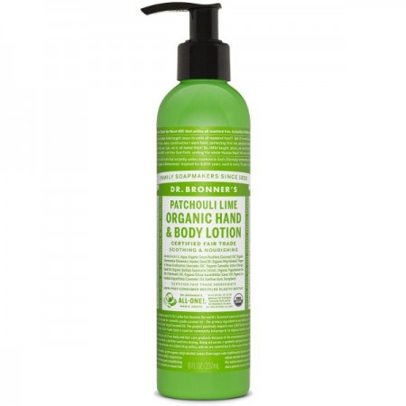 Dr. Bronner's Hand & Body Lotion 237ml - Patchouli Lime