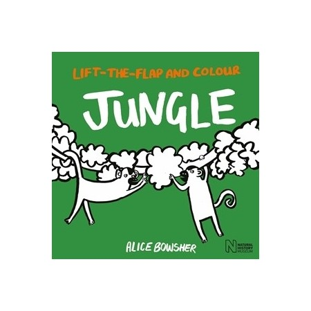 Lift The Flap And Colour Jungle