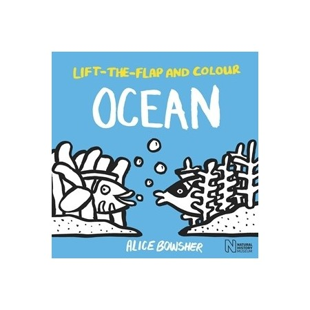 Lift The Flap And Colour Ocean