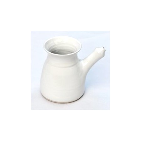 Porcelain neti pot