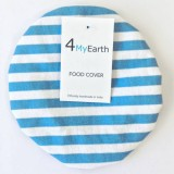 4MyEarth Food Cover Medium - Denim Stripe