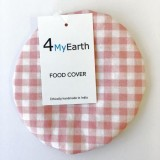 4MyEarth Food Cover Extra Small - Red Gingham