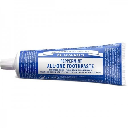Dr. Bronner's Toothpaste 140g - Peppermint