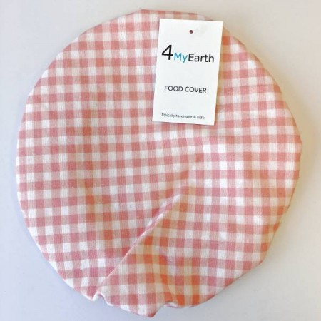 4MyEarth Food Cover Large - Red Gingham