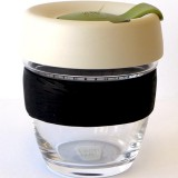 KeepCup Small Glass Cup 8oz (227ml) - Olive