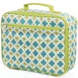 Keep Leaf Insulated Organic Lunch Box - Tiles
