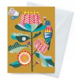Earth Greetings Card - Banksia Garden