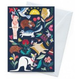 Earth Greetings Card - Wild Natives Australiana