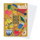 Earth Greetings Father's Day Card - Best Dad Gardener
