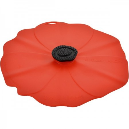 Poppy Silicone Reusable Food Cover Round - Large 28cm 11""