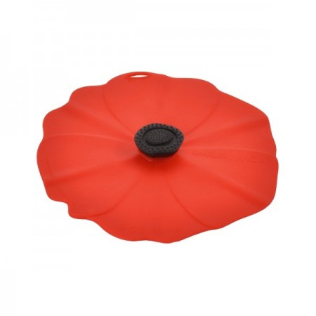 Poppy Silicone Reusable Food Cover Round - Small 15cm 6""