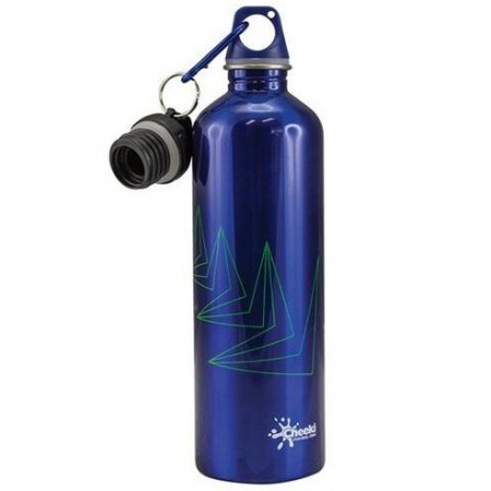 Cheeki Stainless Steel Water Bottle 750ml - Arrows