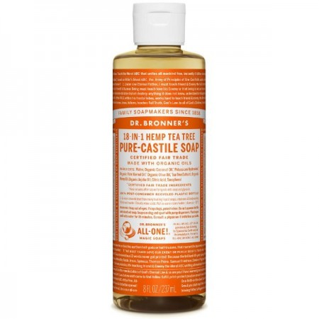 Dr. Bronner's Pure-Castile Liquid Soap 237ml - Tea Tree
