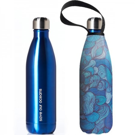 BBBYO Stainless Steel Water Bottle with Cover 750ml - Wind