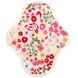 Hannahpad Small Cloth Pad 2pk - Flower Garden Pink