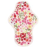 Hannahpad Medium Cloth Pad - Flower Garden Pink