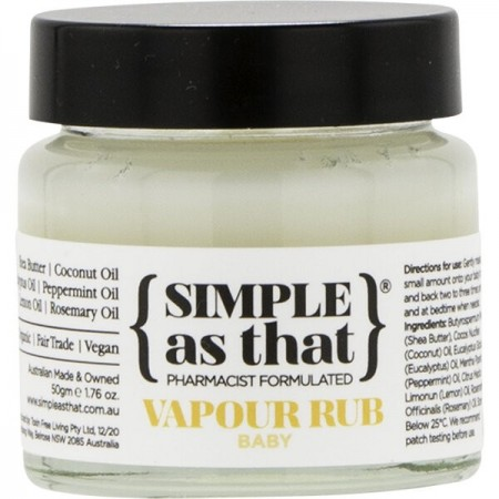Simple As That Vapour Rub - Baby