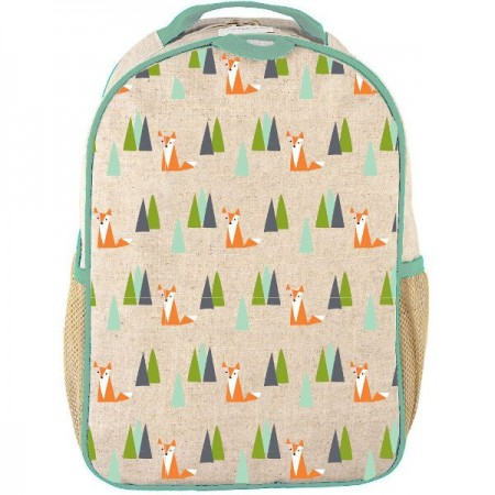 SoYoung Uncoated Toddler Backpack - Olive Fox