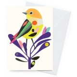 Earth Greetings 'Inaluxe' Card - Silvereye