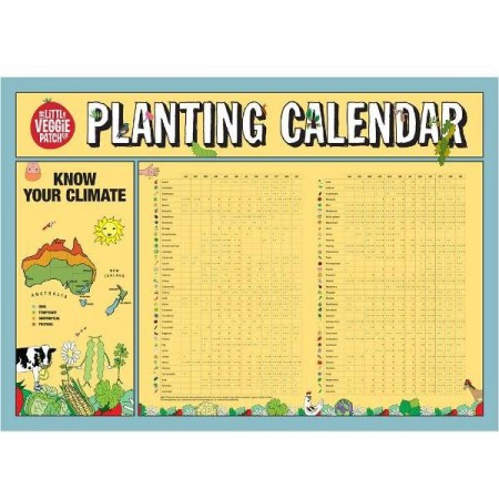 Little veggie patch co planting calendar biome for Gardening tools melbourne