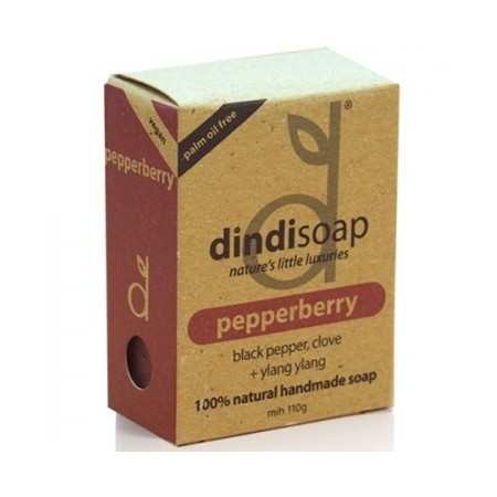 Dindi Palm Oil Free Soap Pepperberry 110g