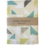 Organic Cotton Handkerchief - Triangles