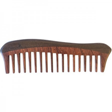 Tan's Wooden Detangling Comb - Enchanted Forest