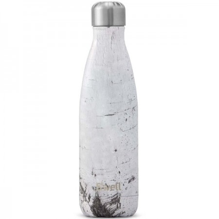 S'Well Insulated Stainless Steel Bottle 500ml - White Birch
