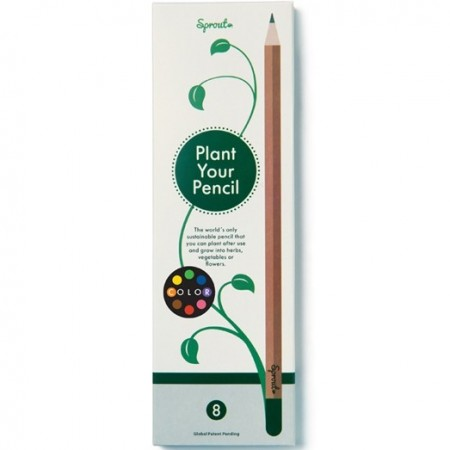 Sprout Coloured Pencil - Lemon Balm
