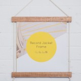 Corner Block Studio Record Jacket Frame - Blonde