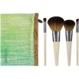 EcoTools bamboo makeup brush set - 5 piece travel set