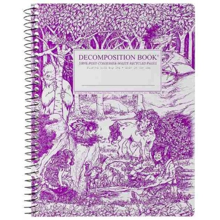 Decomposition Spiral Notebook - Fairy Tale Forest