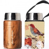 BBBYO 500ml Foodie with Cover - Bird