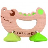 EverEarth Wooden Rattle Toy - Crocodile