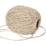 Dharma Door Thin Hemp Twine 50m - Natural