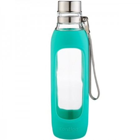 Contigo Purity Glass Water Bottle - Jade