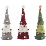 Fairtrade Felt Christmas Decorations - Standing Tree (1)