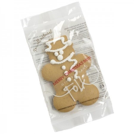 Gingerbread Folk Gingerbread Snowman 30g