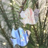 Fair Trade Boxed Paper Doves Christmas Decoration (5)
